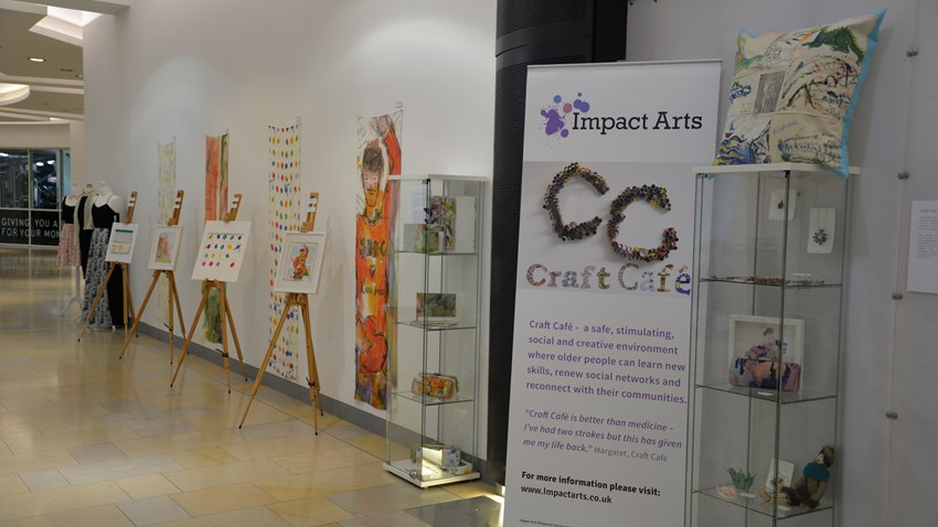 Craft Cafe Exhibitions raises over £900