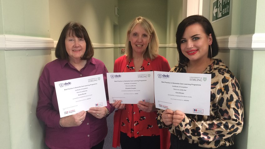 Viewpoint staff achieve Best Practice in Dementia Care