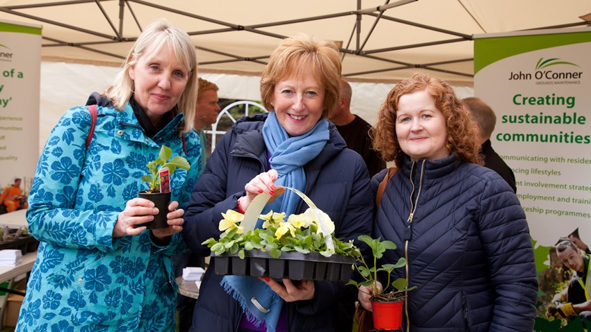 Plant Sale raises over £300 for Charity of the Year